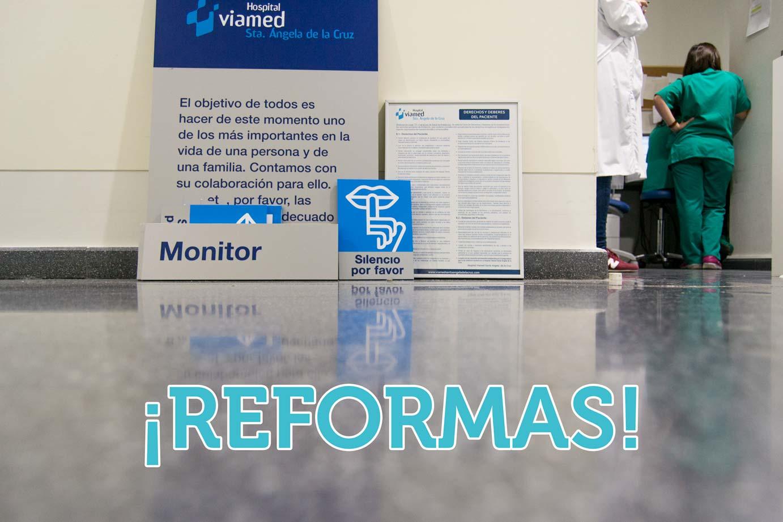 reformas remodelación obras viamed Santa Angela de la Cruz